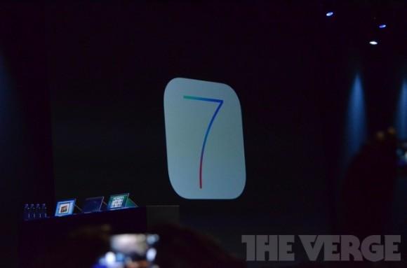 苹果开发者大会图文实录:发布iOS7系统